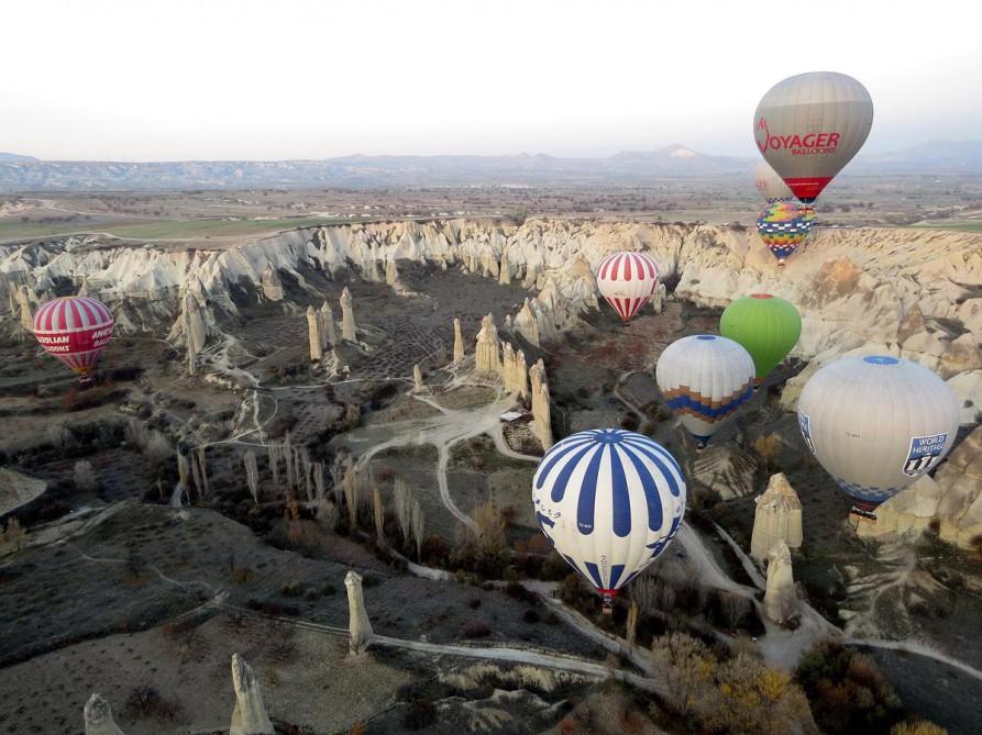 Heißluftballon, Kappadokien