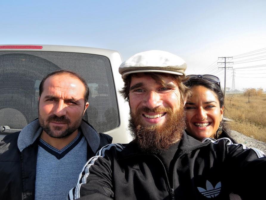 mit Mohammad in Konya