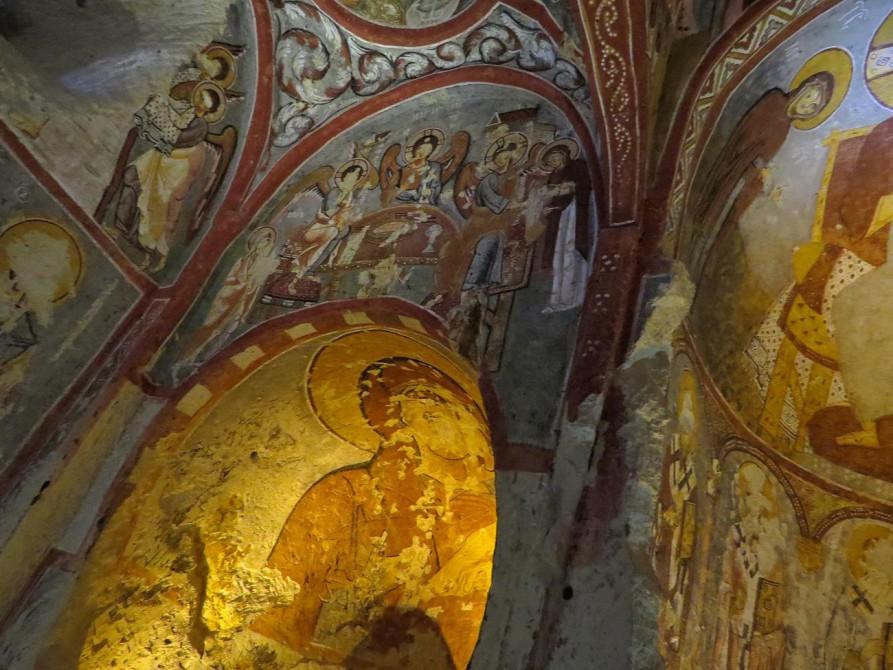 Fresken in der Karanlık Kilise