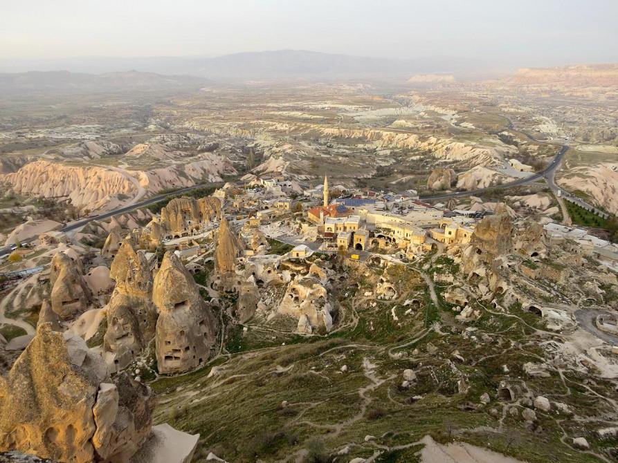 Blick von der Felsenburg von Uçhisar