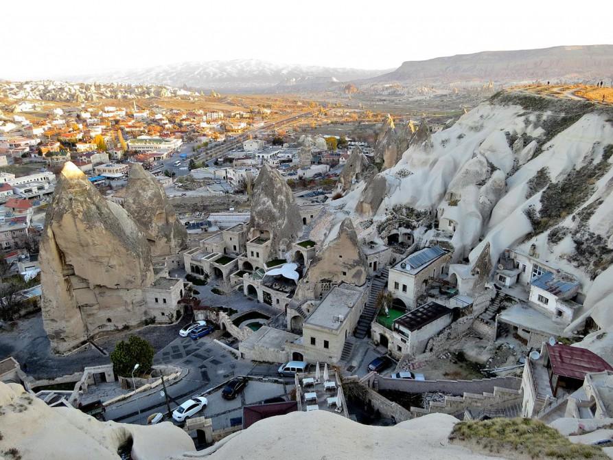 Höhlenhotel in Göreme, Kappadokien