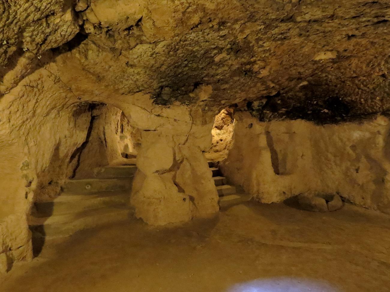 Stadt im Untergrund, Derinkuyu, Kappadokien