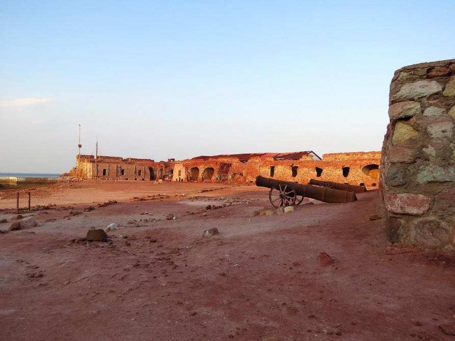 portugiesische Festung auf Hormus