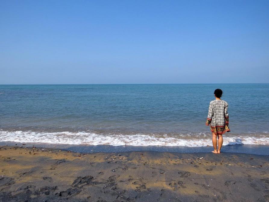 Blick auf den Persischen Golf
