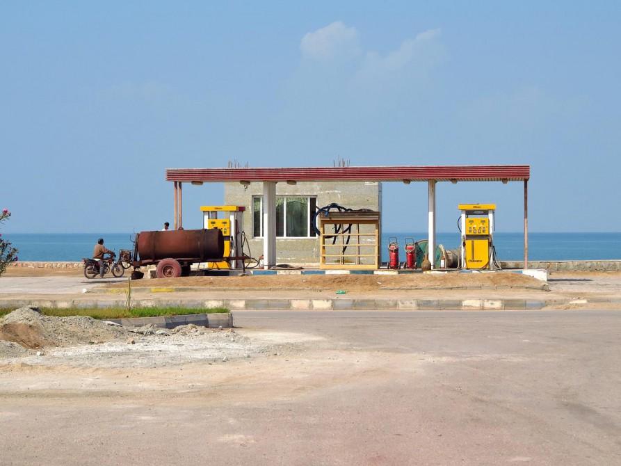 Tankstelle auf Hormus