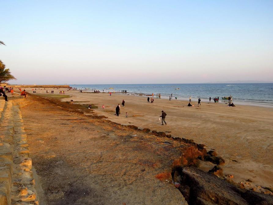 Strand bei Qeshm Town