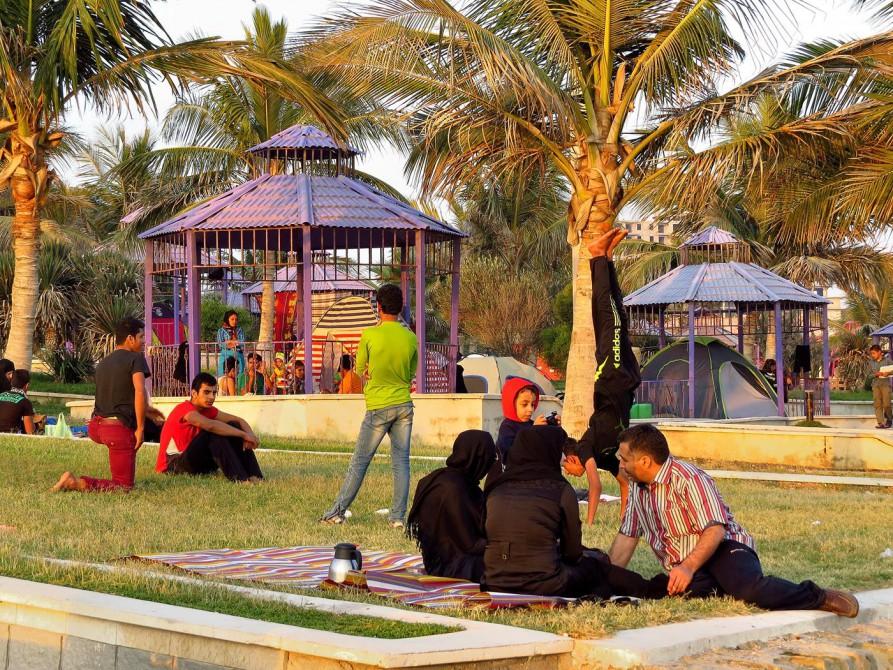 Picknick im Iran