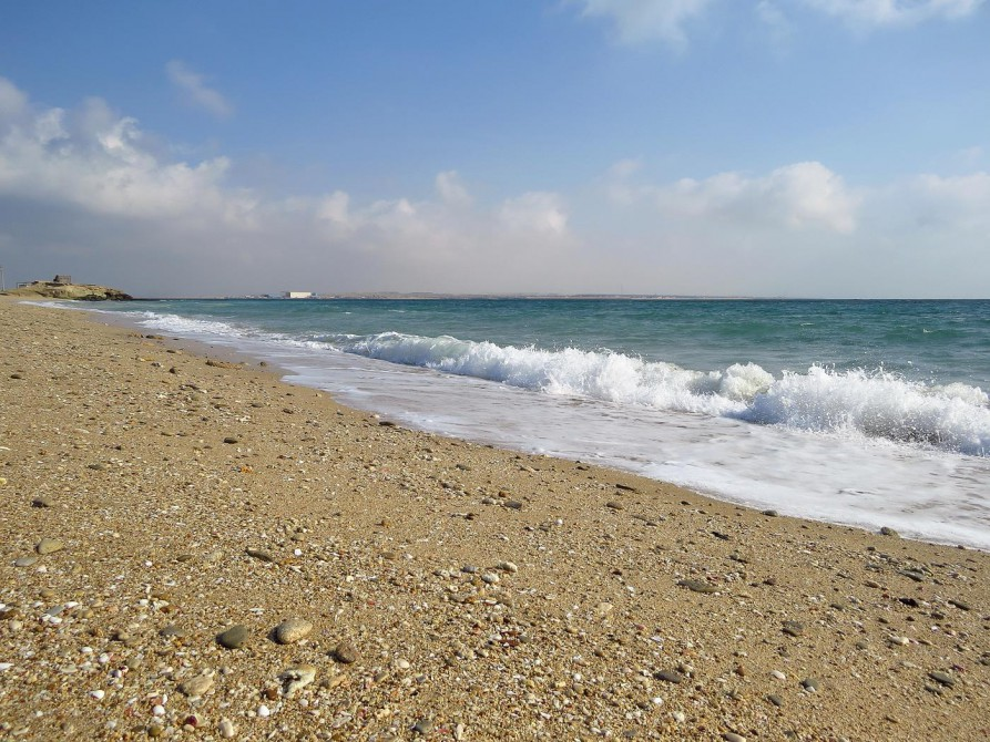 Strand auf Hengam