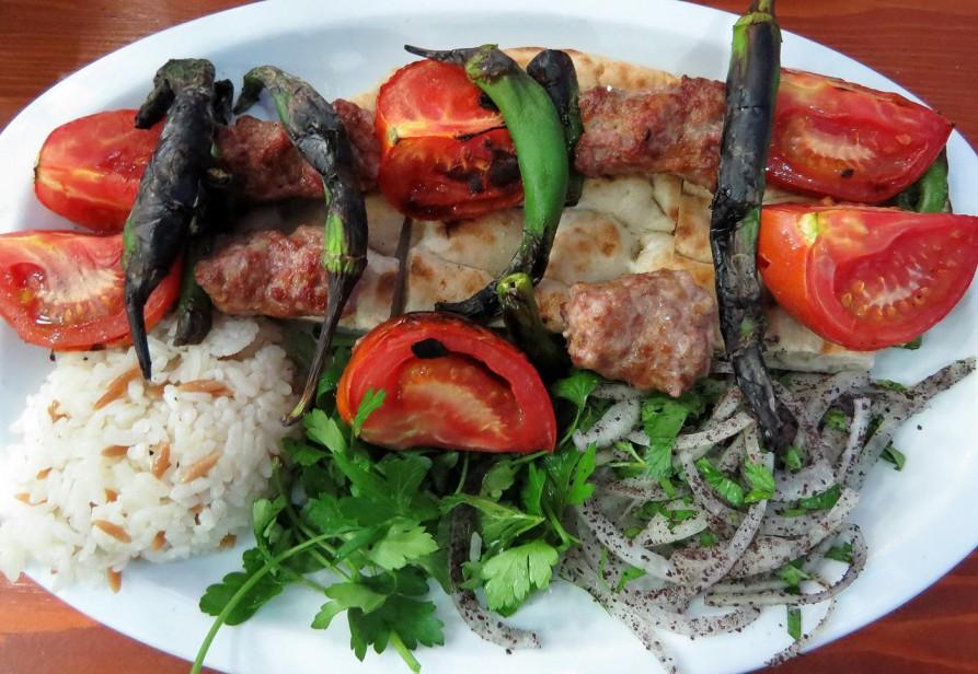 Tomaten Kebab