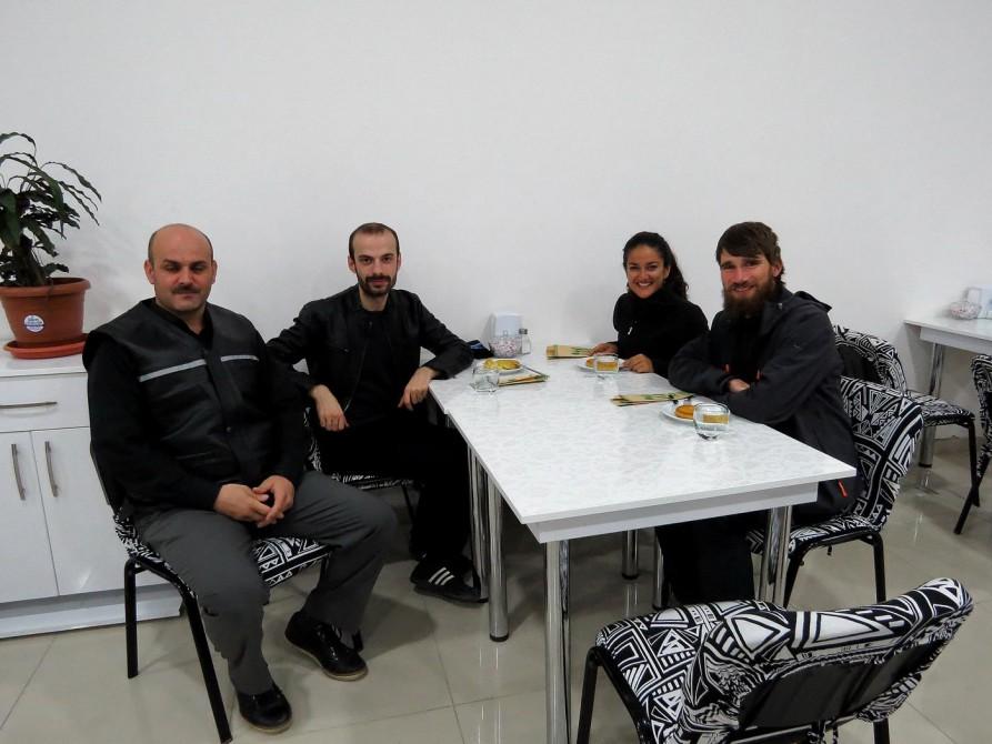 Mit Murat im Restaurant