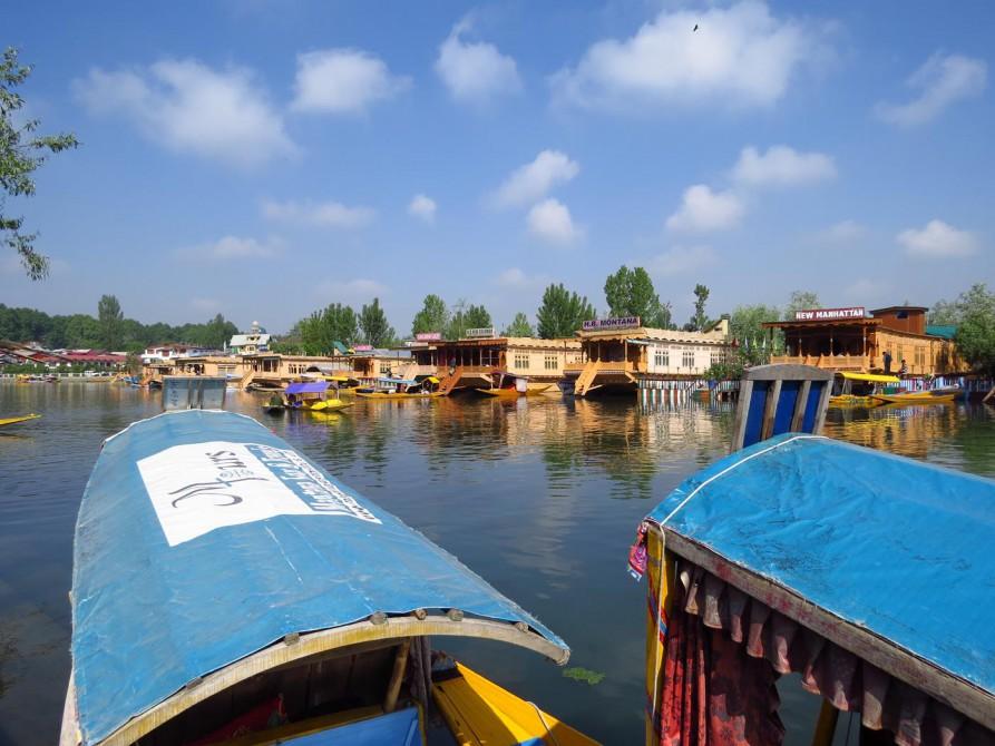 Hausboote auf dem Dal See in Srinagar