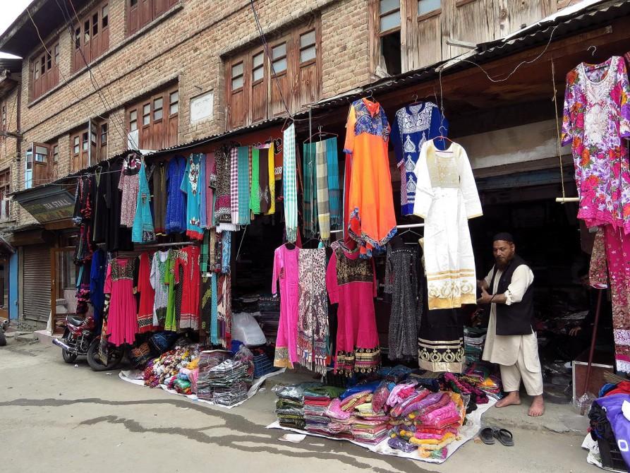 Auf dem Markt in Srinagar