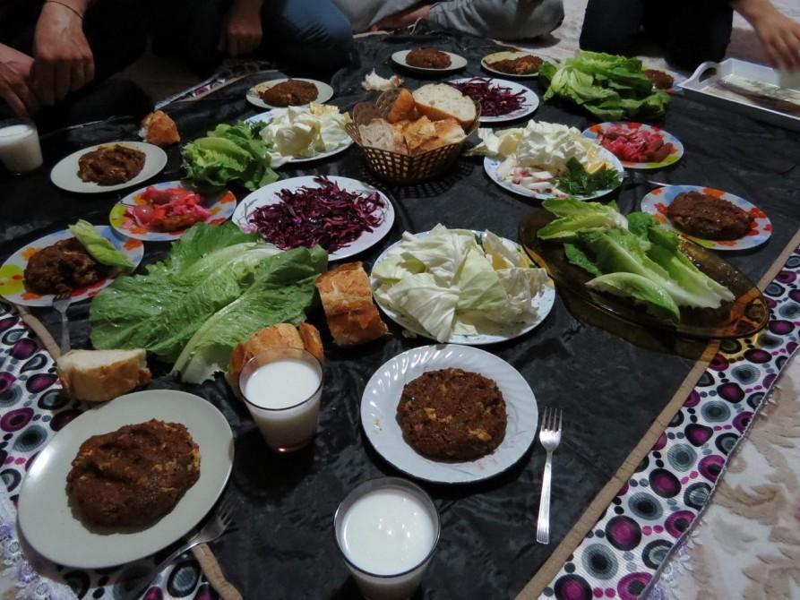 Cig Köfte, Urfa, Türkei