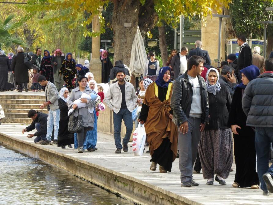 Gölbaşı-Gelände, Urfa, Türkei