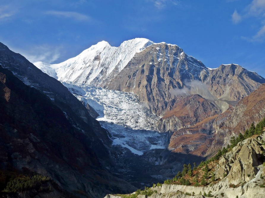 Gangapurnagletscher, Annapurna Umrundung