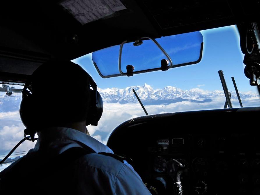 Cockpit und Himlaja