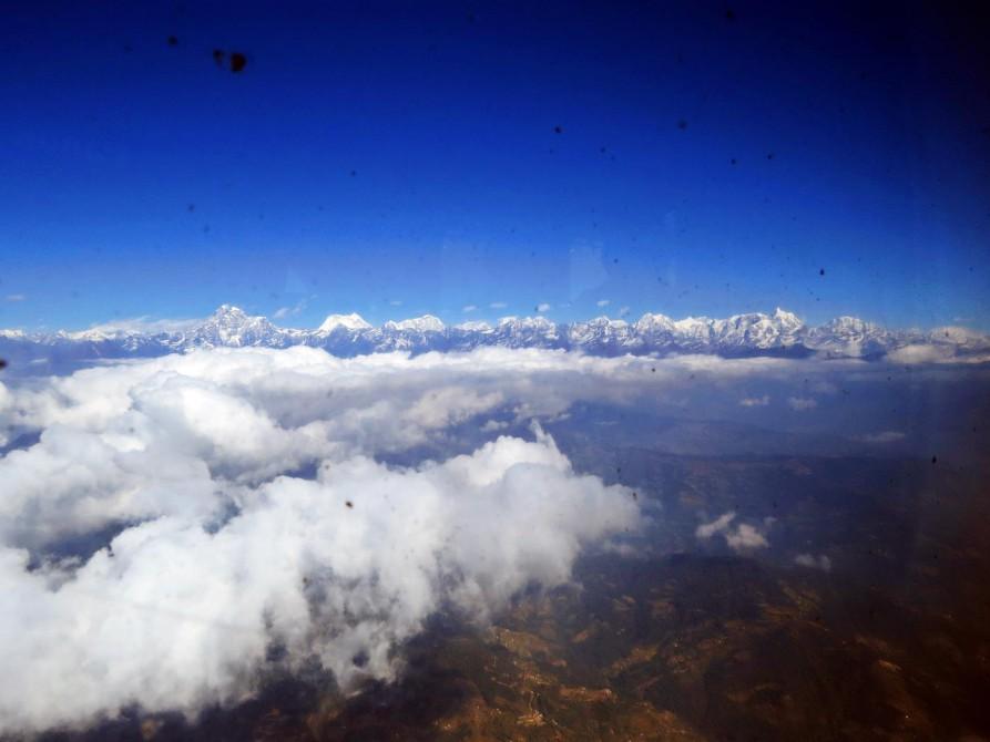Himalaja mit dem Mount Everest