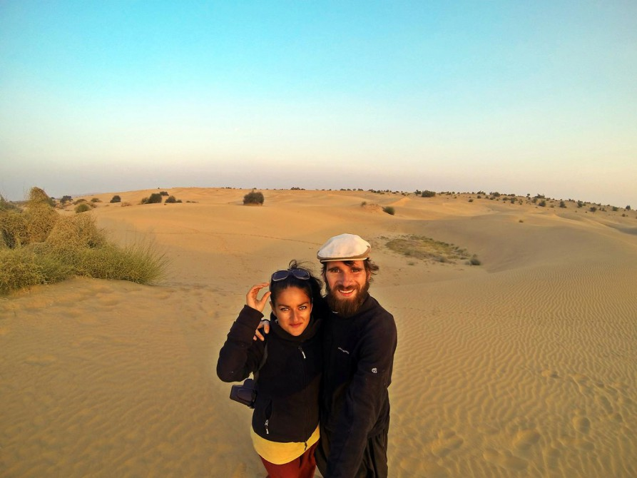 in der Wüste Thar