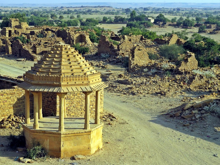 Geisterdorf Kuldhara, Rajasthan