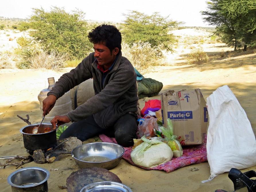 kochen in der Wüste, Jaisalmer