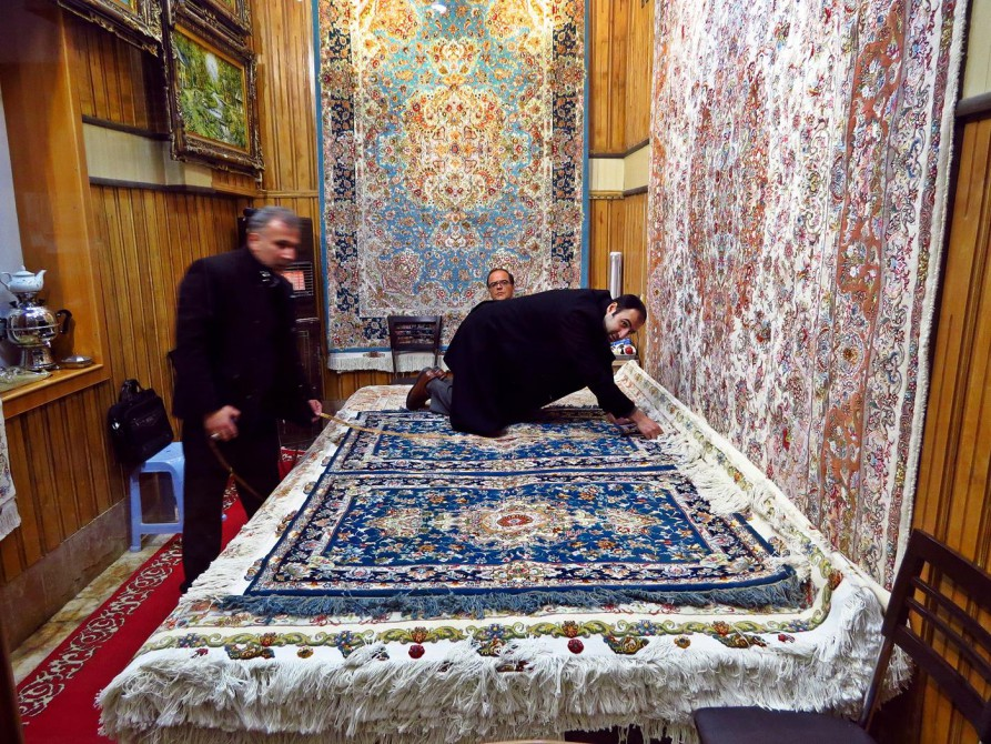 Teppichverkäufer, Täbris