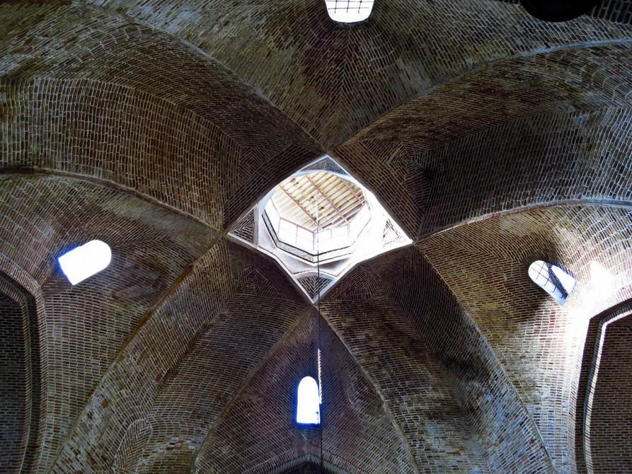 Kuppel im Markt von Täbris