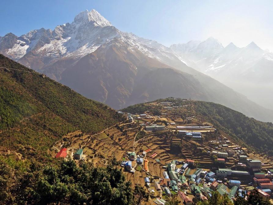Thamserku, Namche Bazaar, Everest