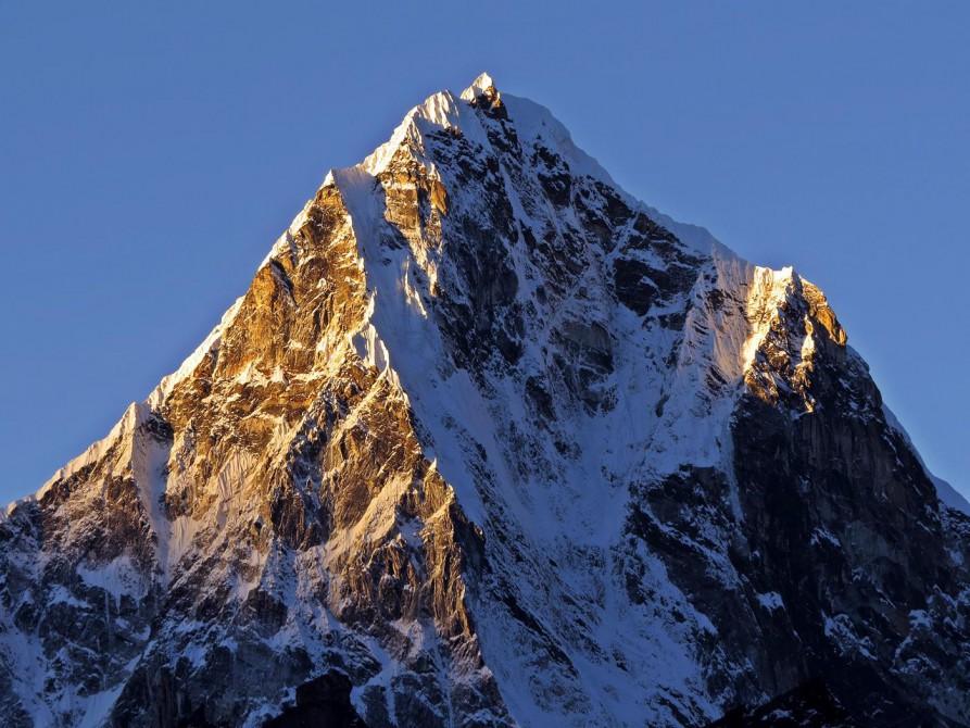 Morgenlicht, Himalaja