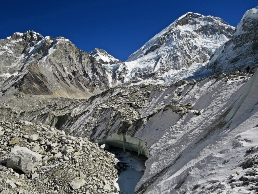 Khumbugletscher, Mount Everest, Himalaja