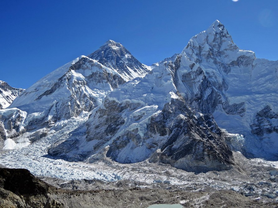 Mount Everest, Khumbu Ice Fall, Nuptse, Himalaja