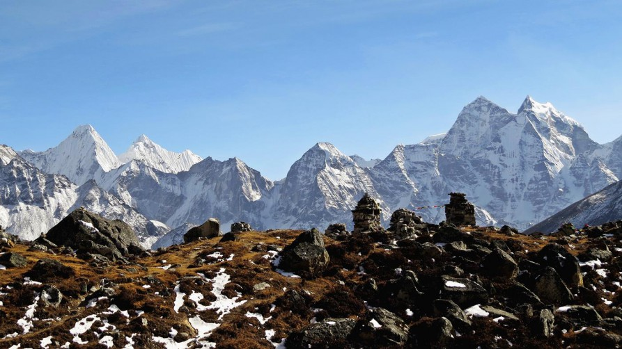 Chorten, Everest Base Camp Trek, Himalaja