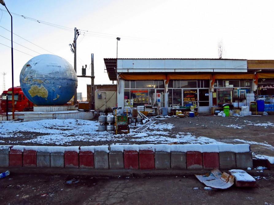 Tankstelle, Iran