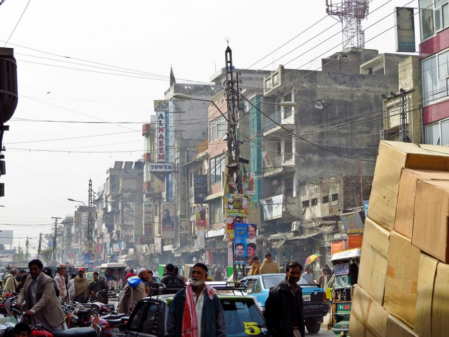 Alstadt von Rawalpindi