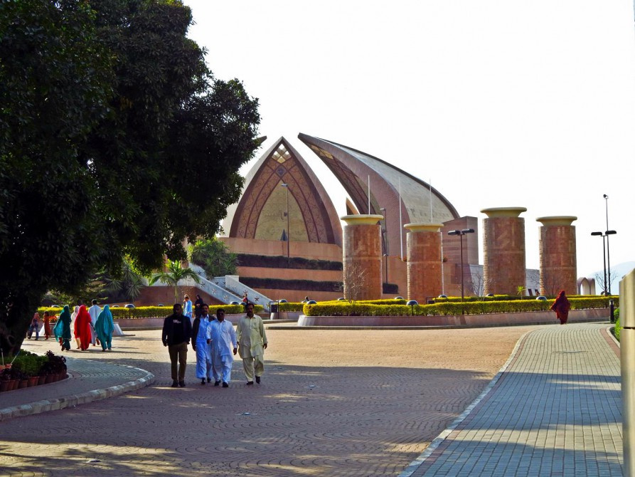 das Pakistan Monument