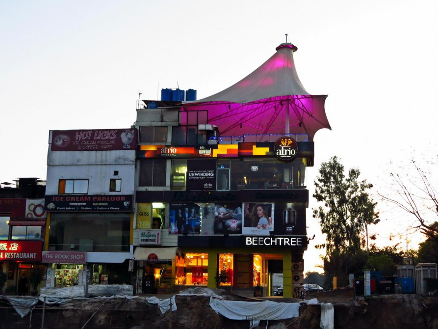 Restaurants und Boutiquen in Sektor F7, Islamabad