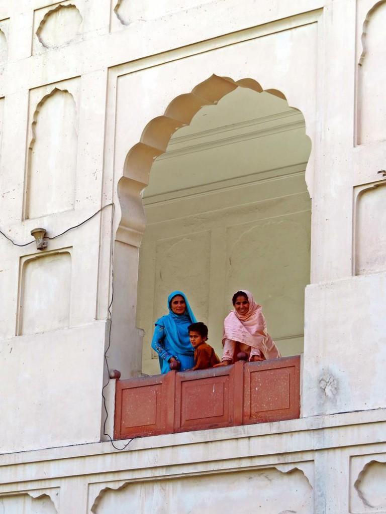 junge Frauen in Lahore