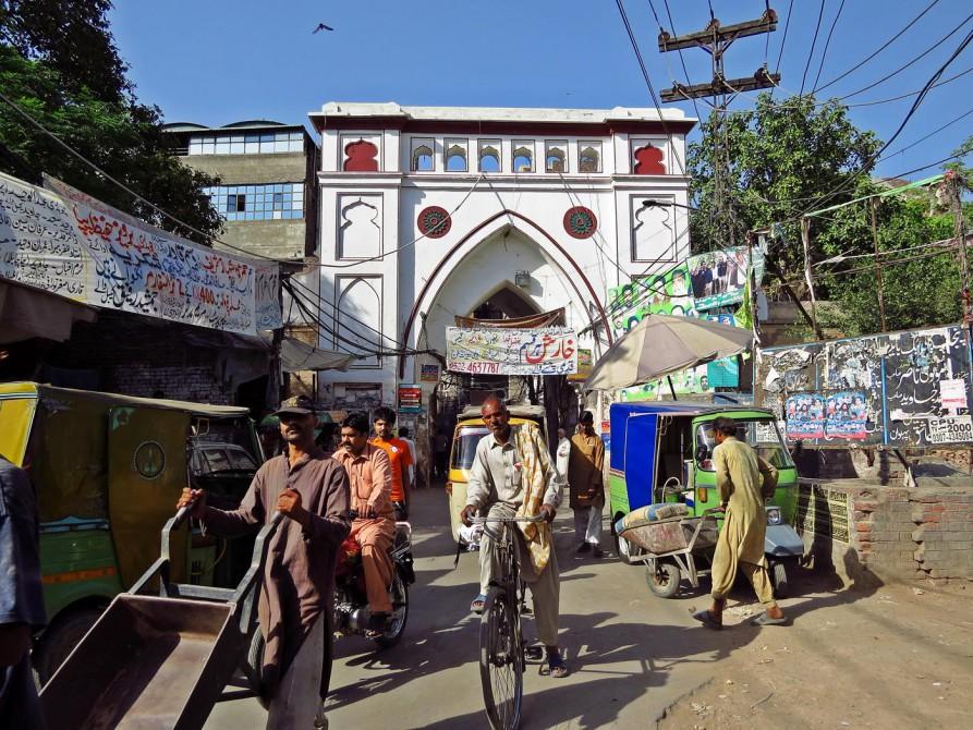 Bhati-Tor, eines von 13 Stadttoren Lahores