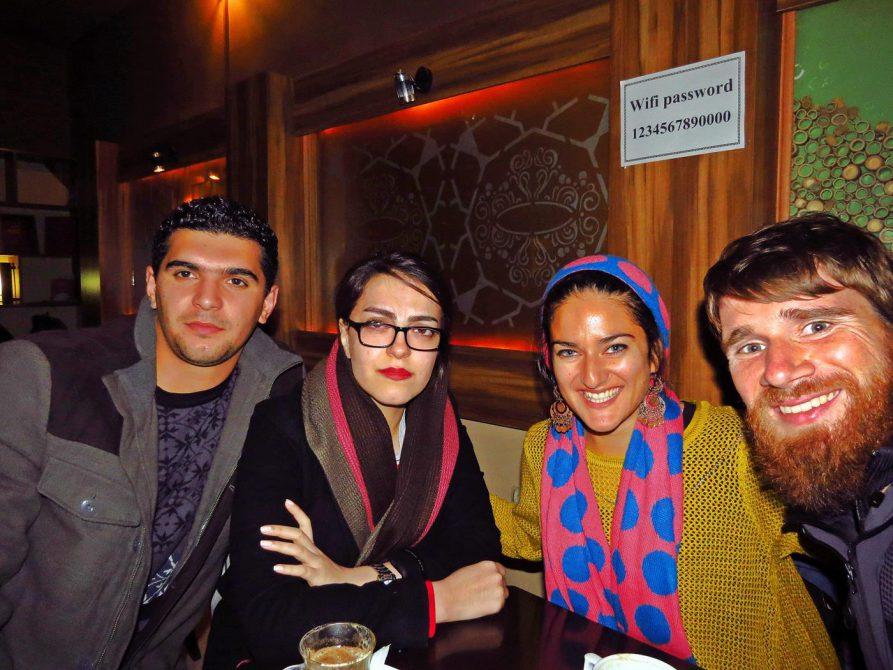 im Café in Ardabil