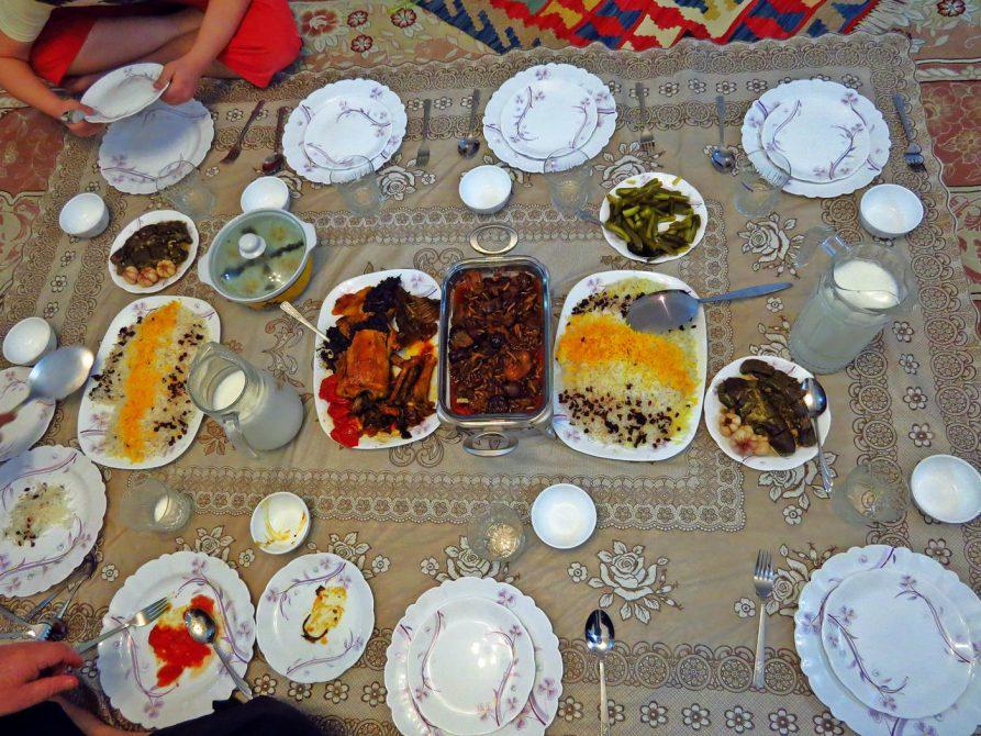 köstliche iranische Küche