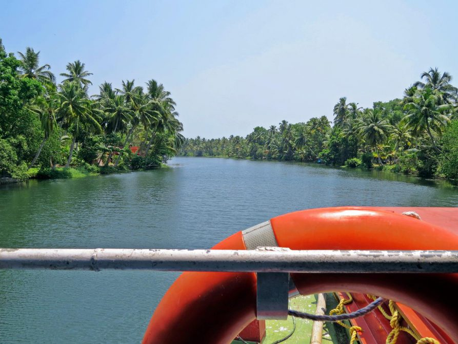 Backwaters, Kerala, Indien
