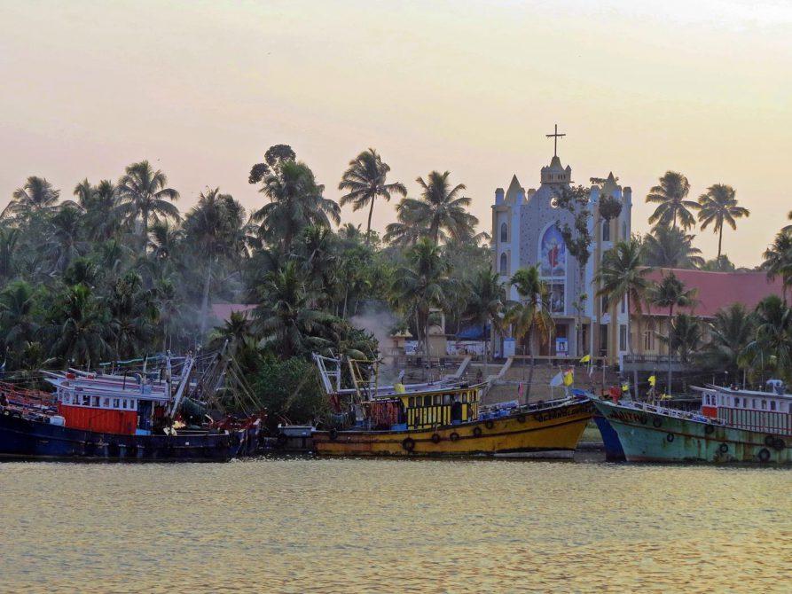 Backwaters, Kerala, Indien