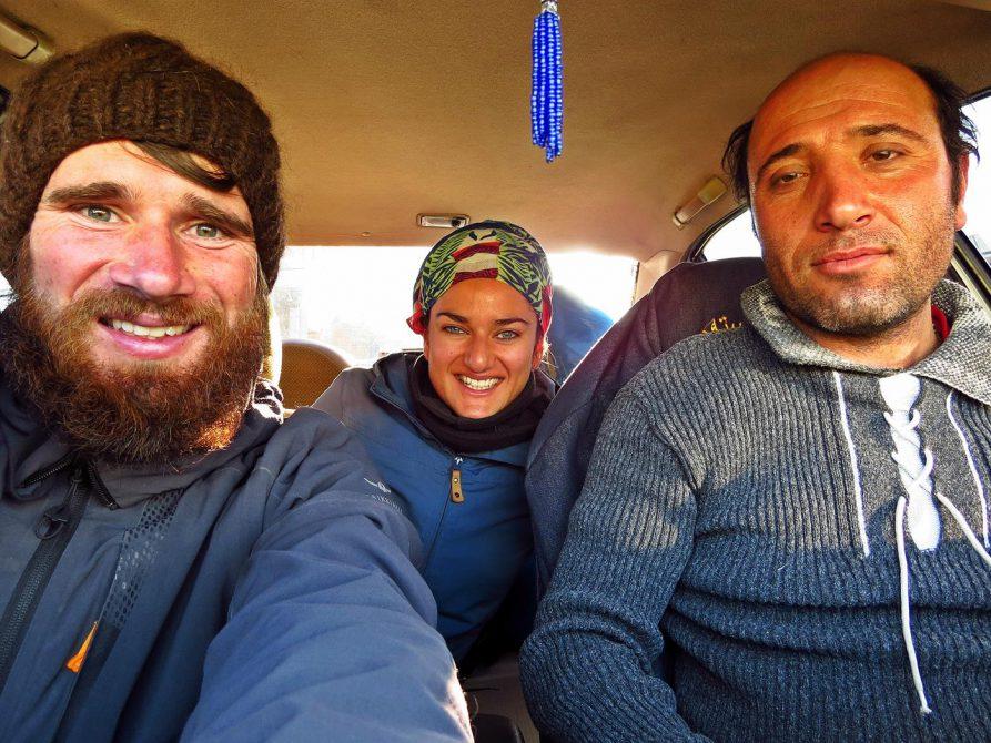 mit Mehdi verlassen wir Täbris in Richtung Osten