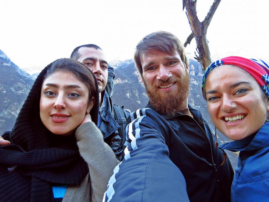 trampen im Iran