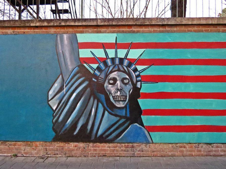 Graffiti, Teheran