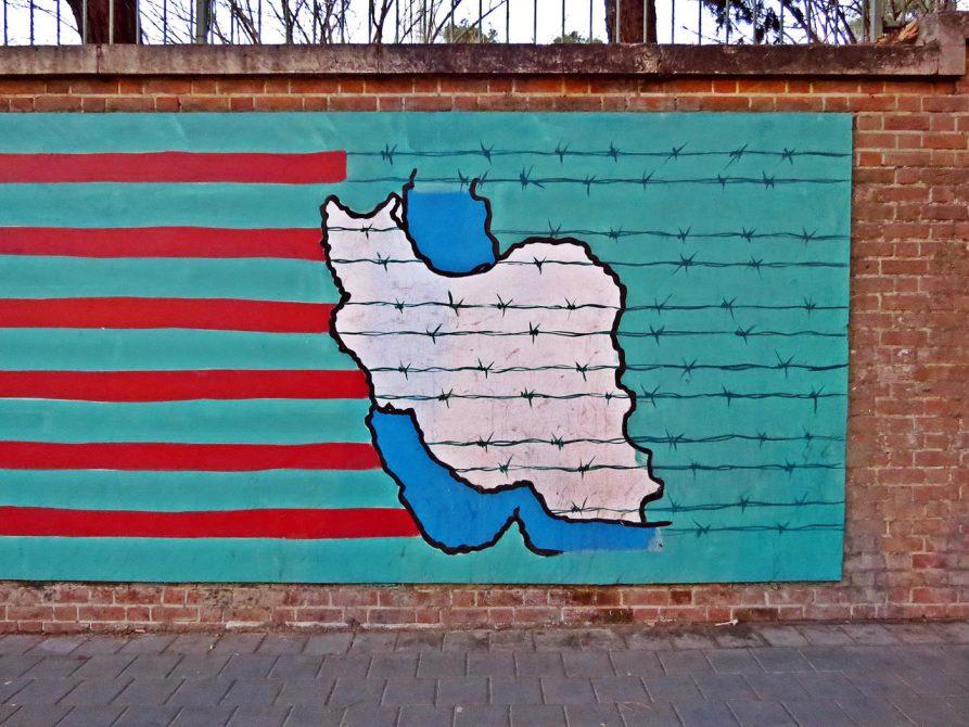 Iran hinterm Stacheldraht
