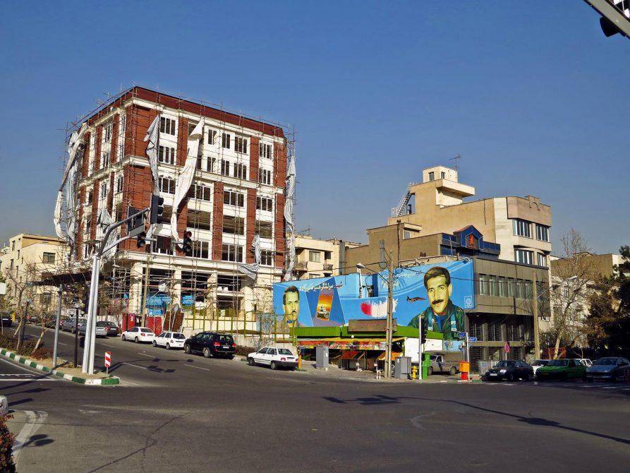 Straßenbild in Teheran