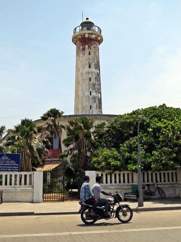 alter Leuchtturm in Pondicherry