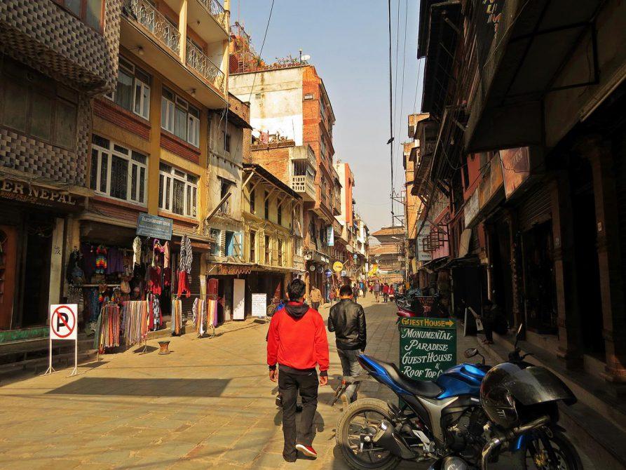 Freak Street in Kathmandu