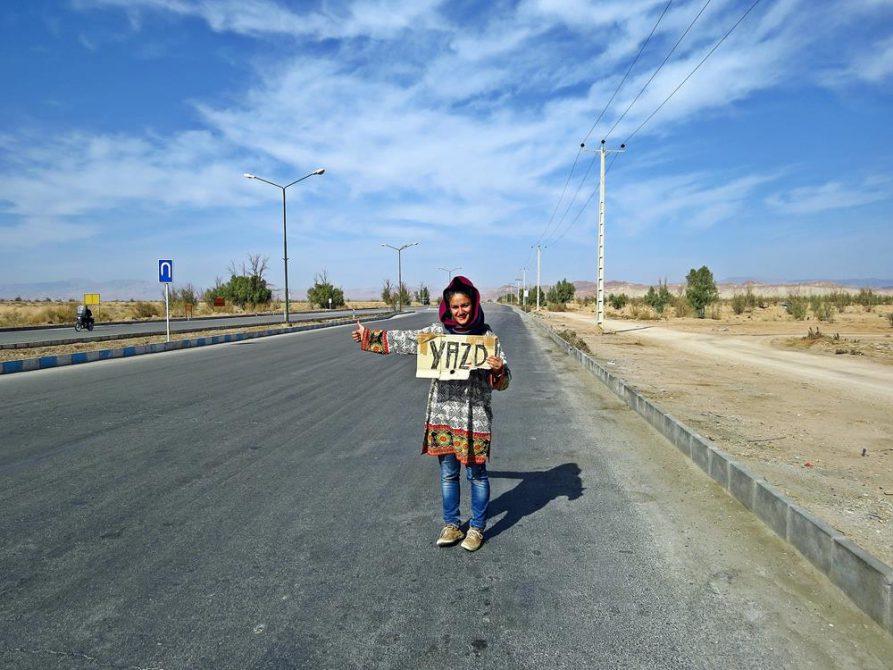per Anhalter durch die Wüste, Iran
