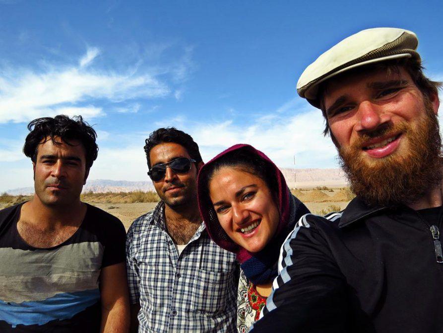 Per Anhalter durch die Wüste Kavir, Iran